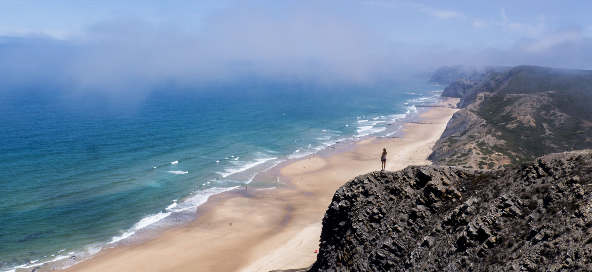 Algarve surf beach