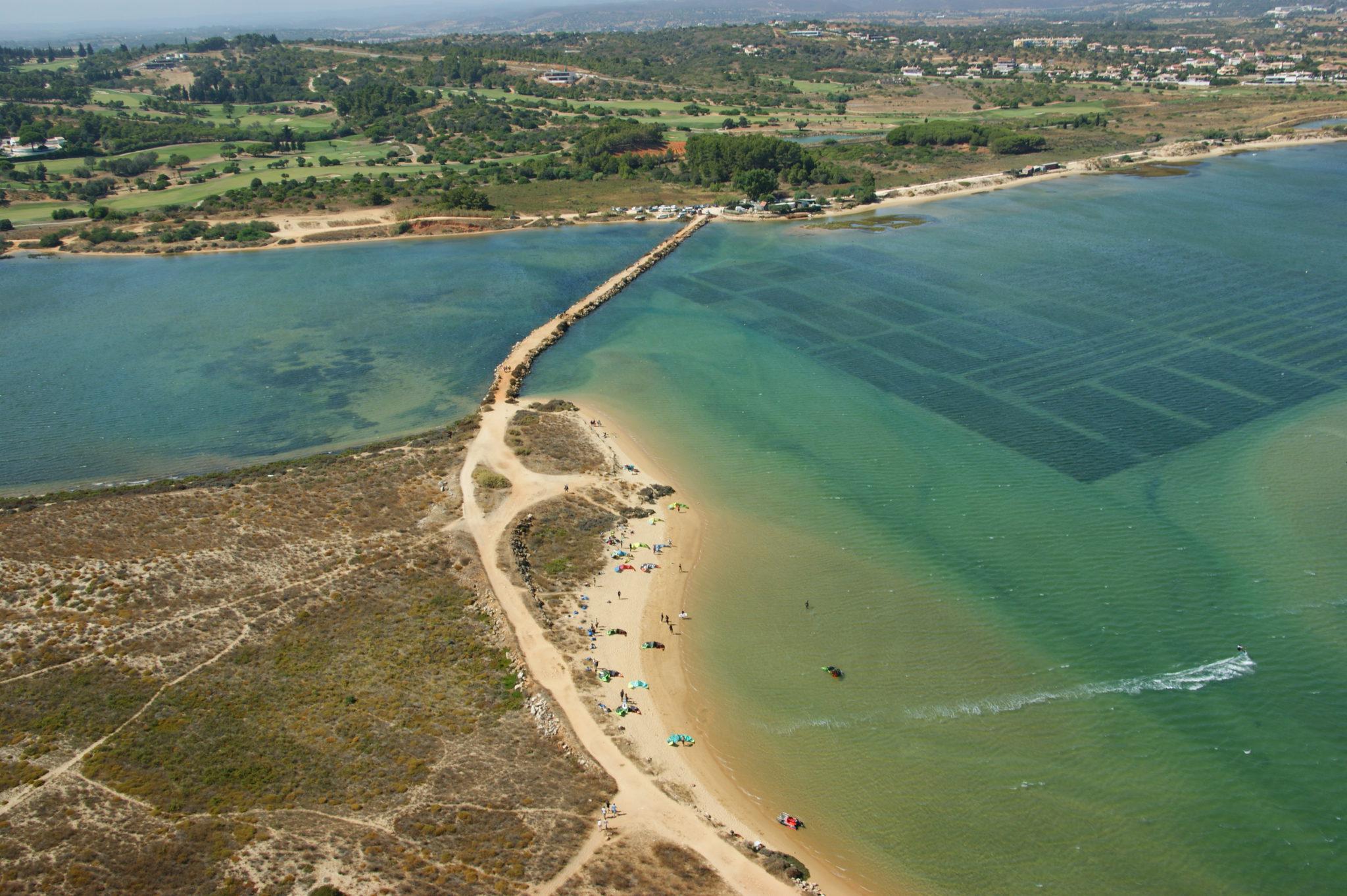 Alvor kite lagoon Lagos