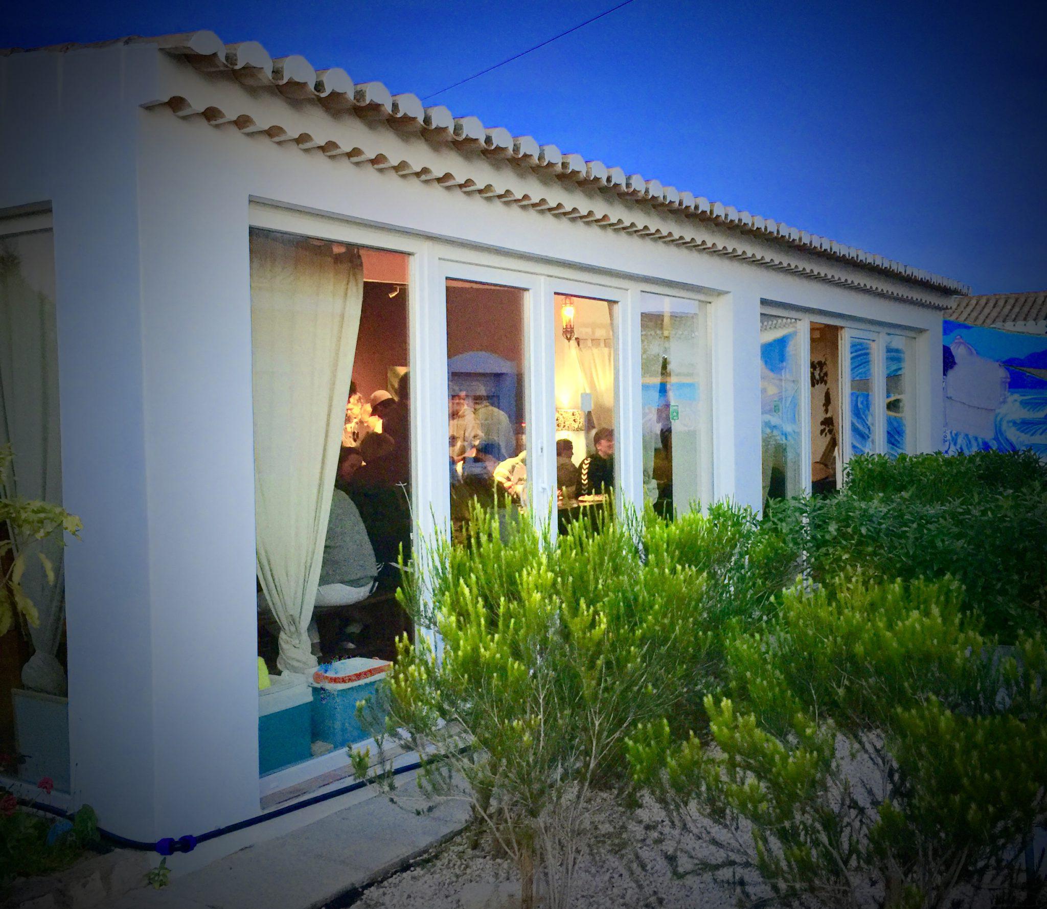 Extreme Algarve camp garden