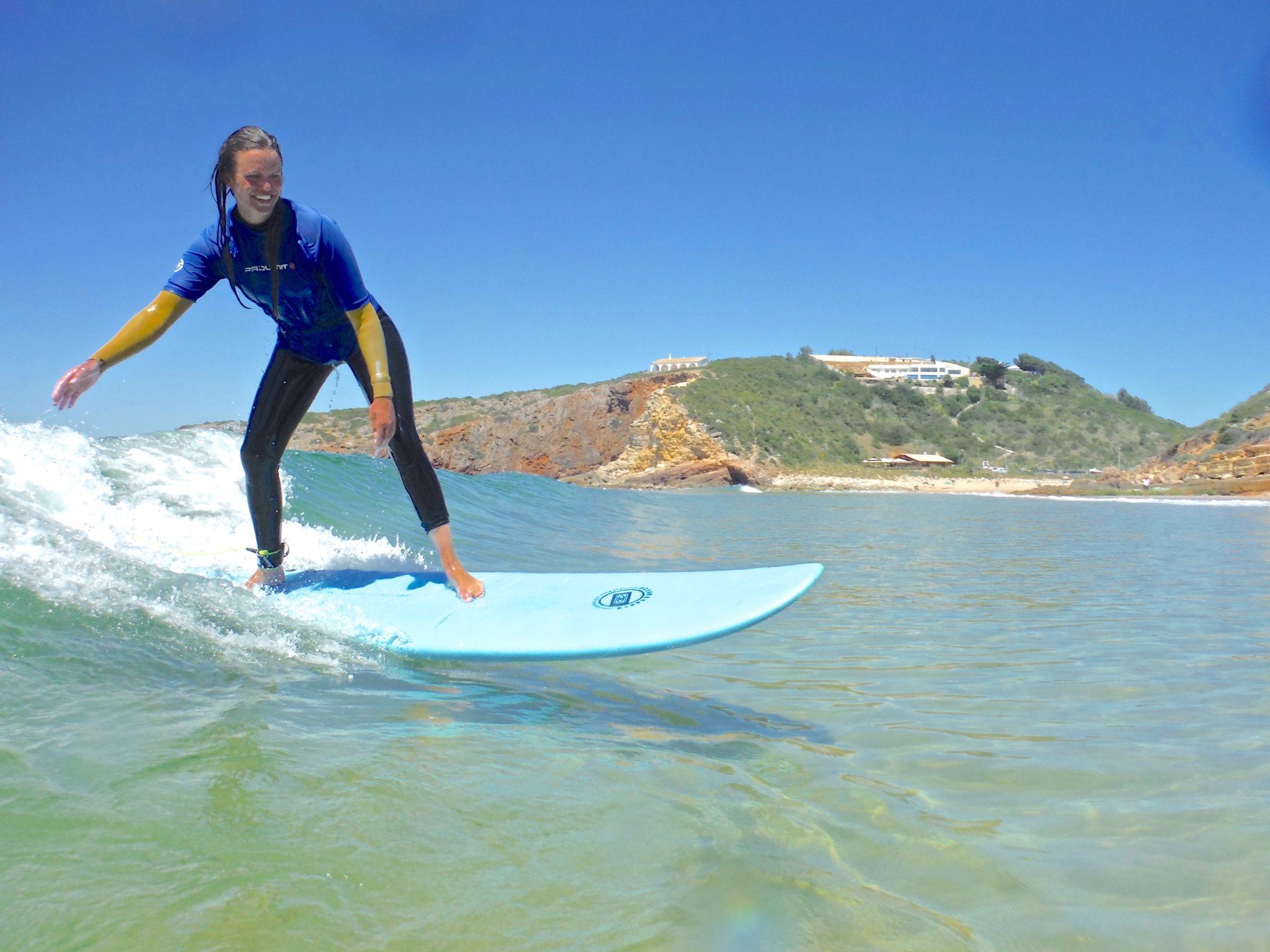 Extreme Algarve surf lesson