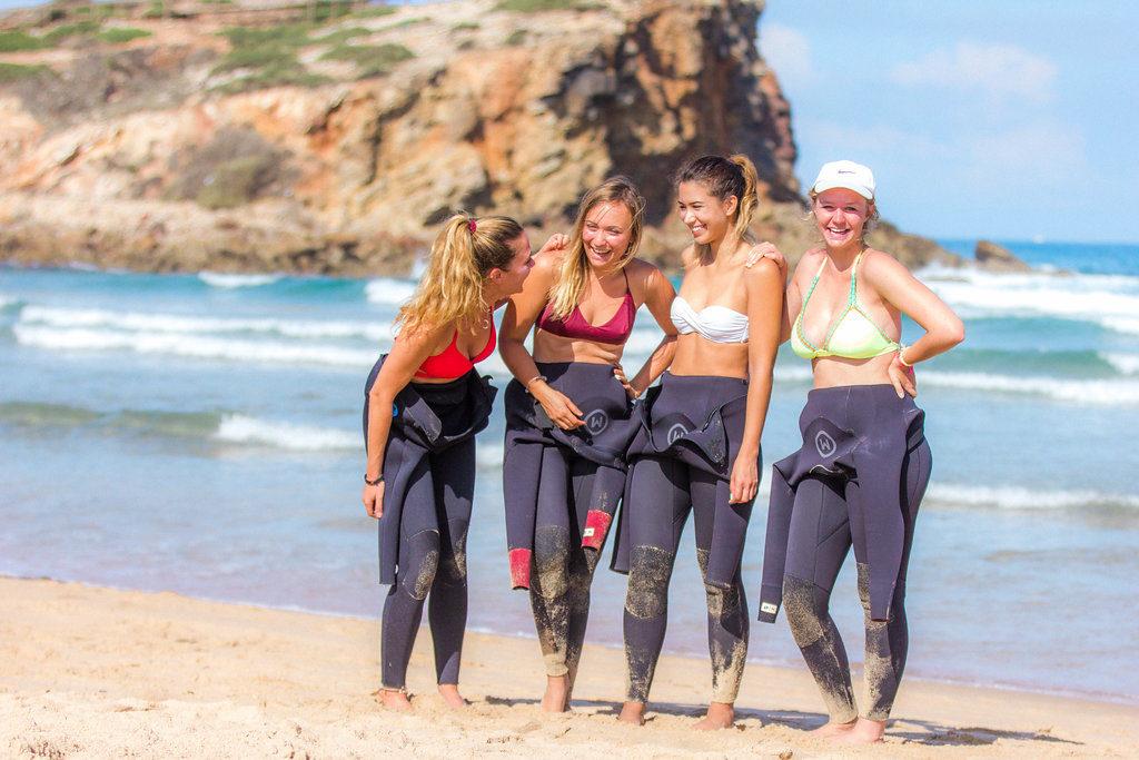 surf camp algarve