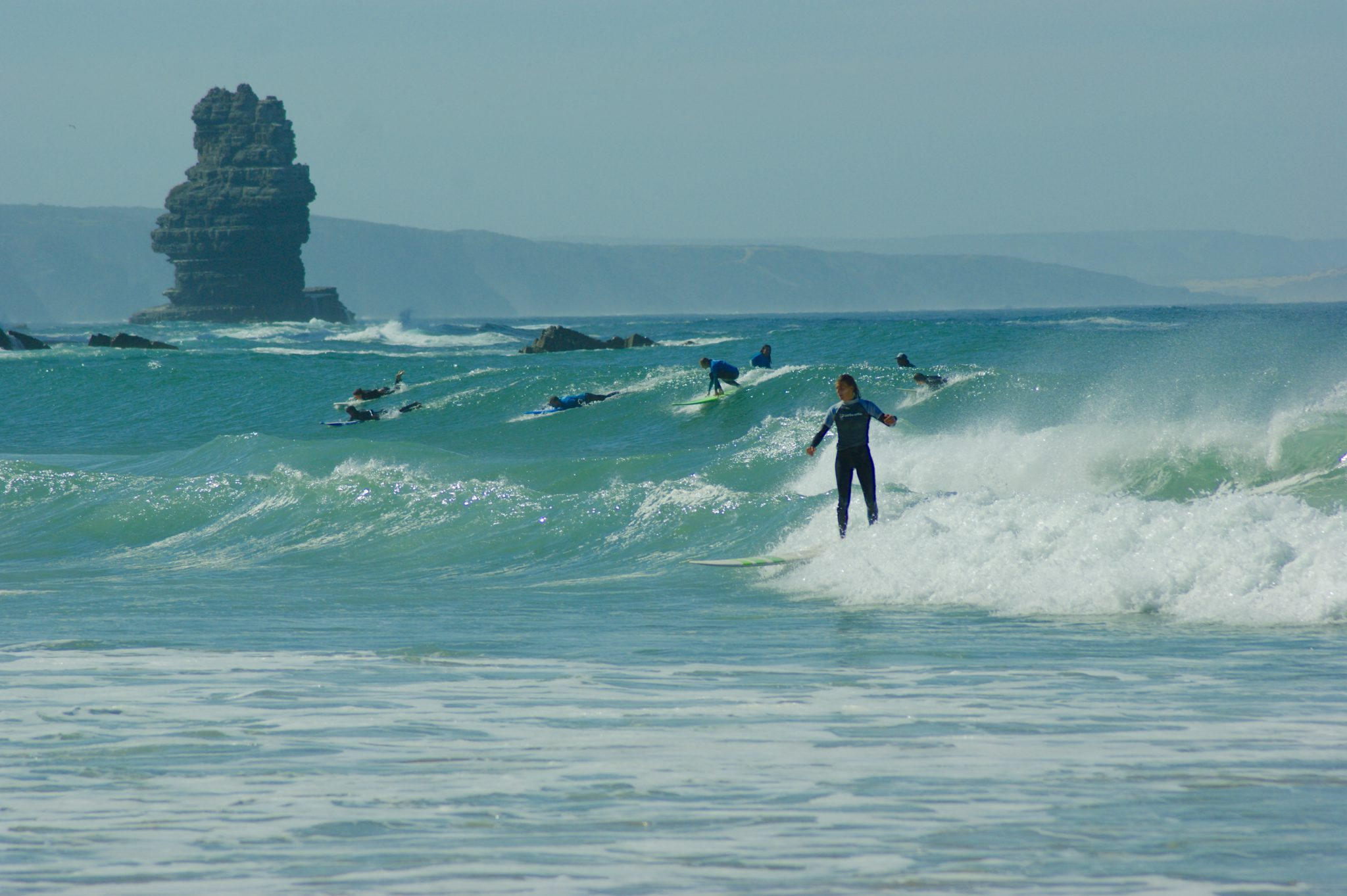 Surf lessons Arrifana